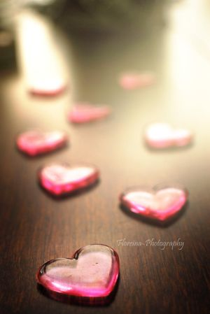 Scattered hearts by Floreina-Photography
