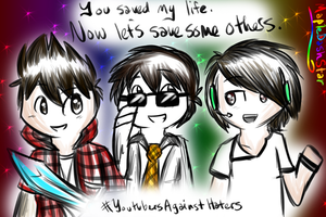 ~YouTubers Against Haters poster~ by VirtualRyan