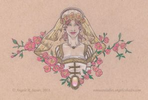 The Lady of Veiled Roses by AngelaSasser