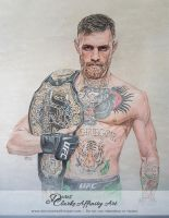 Conor McGregor (Commission) by Harmony1965