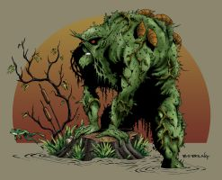 swamp thing color by ATLbladerunner
