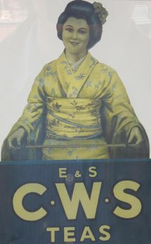 E+S CWS Teas Poster at Beamish by rlkitterman