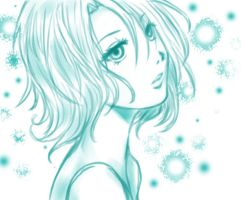 girl sketch by so-candy-love