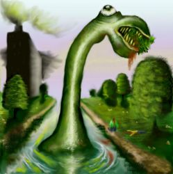 Mutant Canal Worm Updated by KidNebula