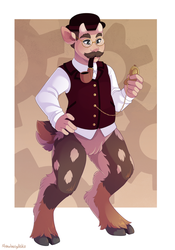 Satyr - Commission by sbneko