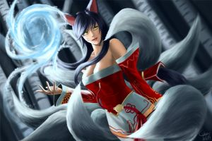 Ahri (Repainted) by ciderWrath