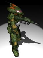 SSR soldier - 3D by A-Teivos