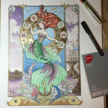 Andersen's The Little Mermaid by artofMilica
