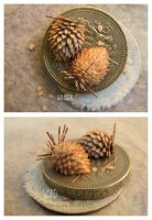 Miniature Almond Cones by MrsCreosote