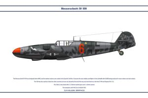 Bf 109 G-6 JG300 1 by WS-Clave
