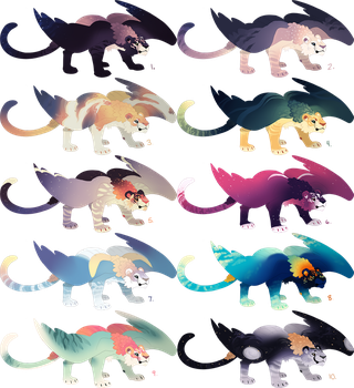 Skyger Adopts 1 - All Sold by QuillCoil