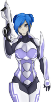 5$ Commission: Flux Vector by nozomi-sama