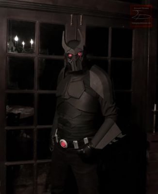 Batman Beyond Cosplay - Work in Progress by SaberPeep