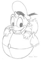 Donald Duck by Domie1337