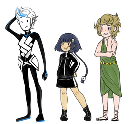 Gijinkas of My Electronics by kirsten7767