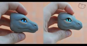 Dragon head preview- WIP by LisaToms