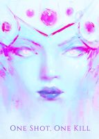 Widowmaker: One Shot, One Kill Poster (Overwatch) by Alex-Chow