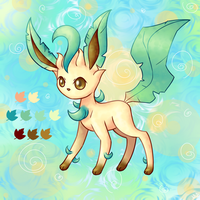 Leafeon by Lemon-Heartss