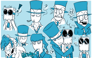 [VILLAINOUS] Sketchdump #1 by risaXrisa