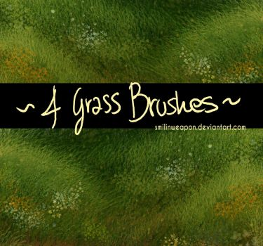 Grass Brushes Set by smilinweapon