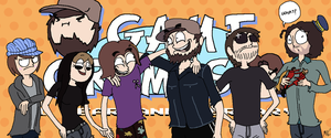Game Grumps 1 Year Anniversary by KCampbell499