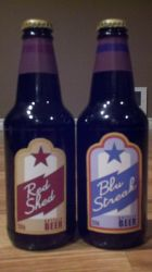 Blu Streak and Red Shed Beer bottle prop by Zodiacx10