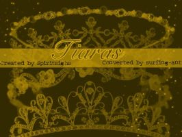 Tiara Brushes by Spiritsighs by surfing-ant