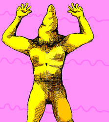 Cone cultist from Hylics by SniperHound