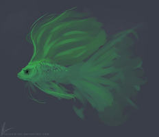 I painted a Fish yay by RustyEdrian