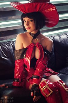 Guilty Gear I-No Cosplay by AlexReiss