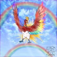 One fabulous gay Ho-oh :gift: by tigersylveon
