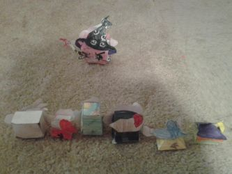 angry birds epic cubie crafts by bluejay5678