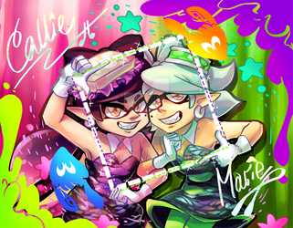 Squid Sister Autograph by Izuma