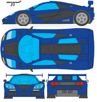 McLaren F1 by bagera3005