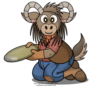 Chubby Goat Prospector by LordDominic