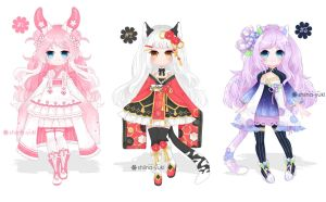 Adopts 114 - Flower Series [Closed] by Shiina-Yuki
