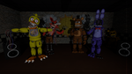 Withered Fazbears by RichardtheDarkBoy29