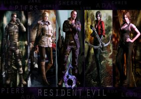 Resident Evil 6 Wallpaper by hadyzero