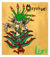 Mayahuel lizy 2 by ah-puch-zegno