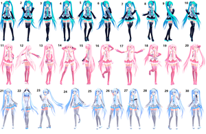 Pose Pack + DL by OzzWalcito