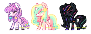 Aesthetic Pony Adopts closed by ufpony
