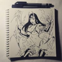 Sketchbook - Purgatori by Candra