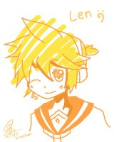 len doodle by Myhinachan