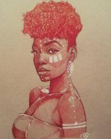 African Queen by rtisticartwork