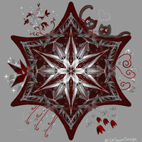 Red Star by CatSpaceDesign
