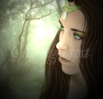 Forest princess by ChicaGuapa