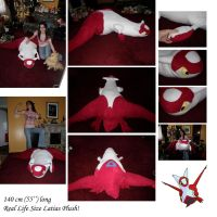 Latias Real Life Size Plush