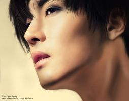 Kim Hyun Joong by demeters