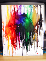Crayon art melted by zinghi
