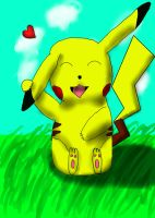 Pikachu loves you by 70562